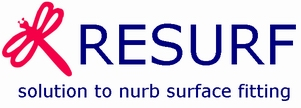 RESURF - solution to nurb surface fitting Computer Aided Design (CAD)